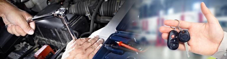 Reparera bilen Solna